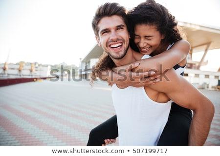 Interracial couple Stock photo © photography33