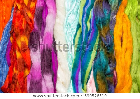 Bright Colored Skeins of Wool stock photo © rhamm