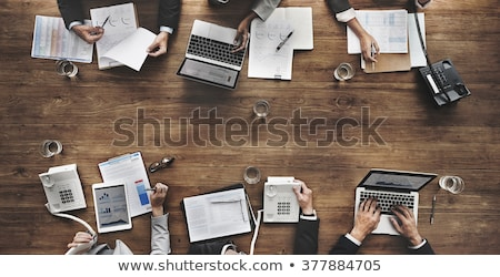 business · boekhouding · pen · grafiek · grafiek · document - stockfoto © kawing921