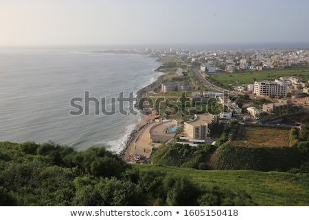 Vert Sénégal Afrique côte plage ciel Photo stock © lunamarina