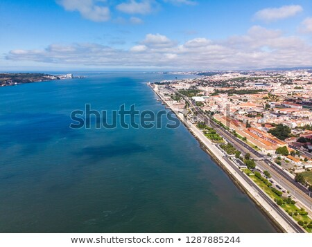 banks of the tagus river stock photo © carpeira10