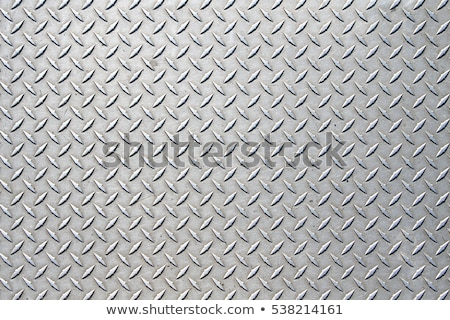 diamantes · placa · textura · de · metal · enorme · hoja · metal - foto stock © clearviewstock