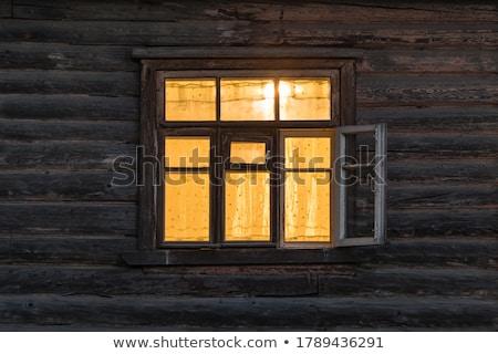 Foto stock: Fachada · casa · velha · janela · parede · abstrato · urbano