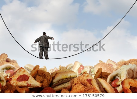 Overweight Diet Danger Stock photo © Lightsource