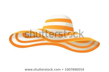 Stock photo: Cute female on the beach