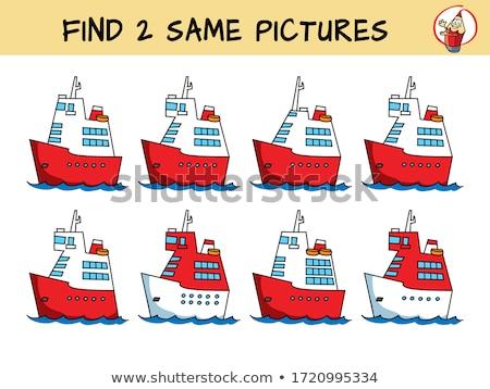 deux · bateau · mer - photo stock © MichalEyal