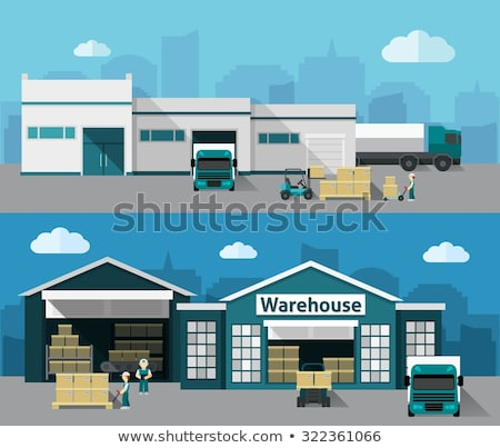 building structure set   sticker stock photo © cteconsulting