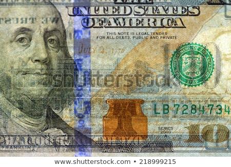 Vízjel új száz dollár számla papír Stock fotó © Mikko