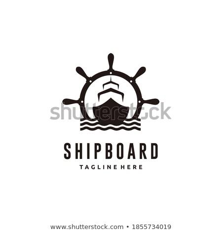Vintage barco mar Foto stock © wime