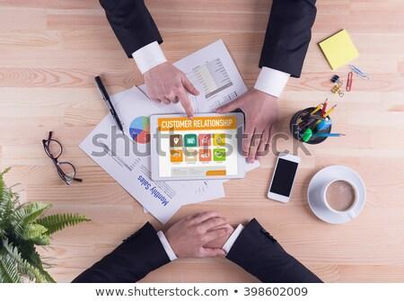 Customer Loyalty Application Stock photo © fuzzbones0