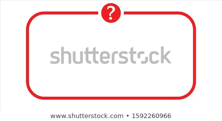 faq · Rood · vector · icon · knop · web - stockfoto © rizwanali3d