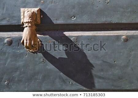 resumen · iglesia · puerta · columna · edad - foto stock © lkpro