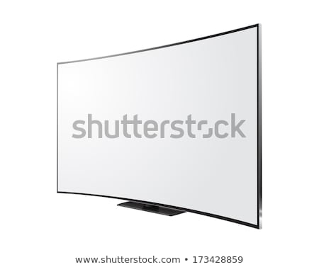 Vector Curved TV Stock photo © dashadima