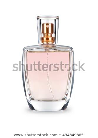 Parfum mooie fles geïsoleerd witte vrouwen Stockfoto © tetkoren