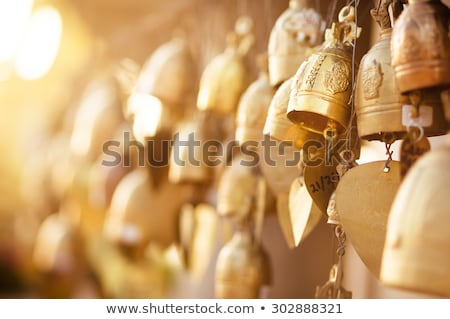 Templo Tailândia grupo vermelho cor Ásia Foto stock © master1305