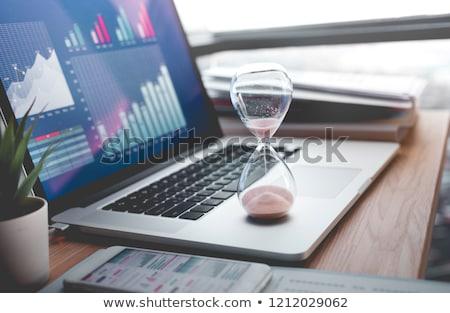 winst · geld · business · industrie · tijd - stockfoto © lightsource