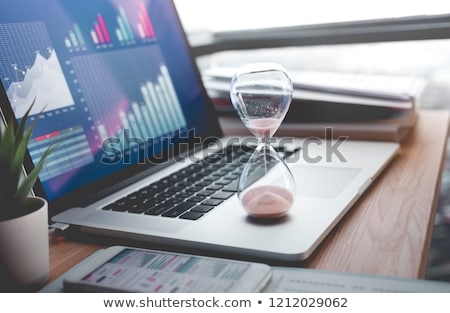 vertragen · business · slak · groep · versnellingen - stockfoto © lightsource
