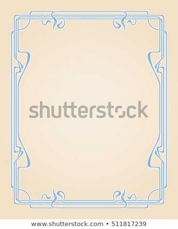 Beige brown abstract background in the style of art Nouveau Stock photo © rogistok