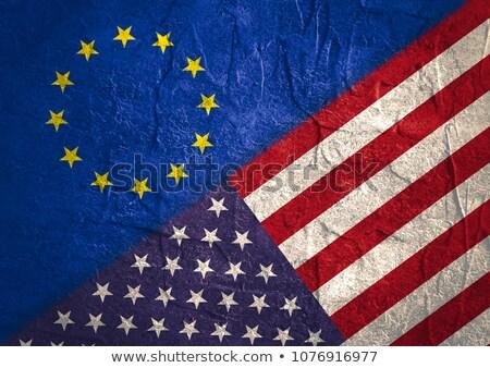 American European Partnership Stock photo © Lightsource