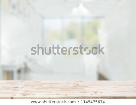 夢 木製のテーブル 言葉 オフィス 学校 クロック ストックフォト © fuzzbones0