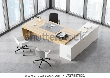 Leadership on wooden table Stock photo © fuzzbones0