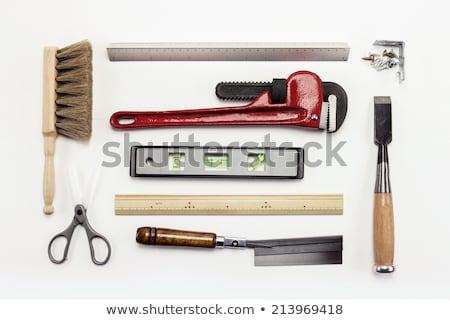 szett · különböző · szerszámok · fehér · építkezés · munka - stock fotó © romvo