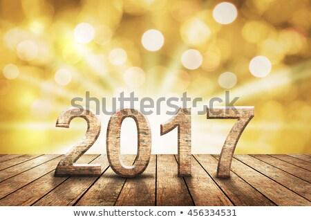 text on the floor   2017 stock photo © zerbor