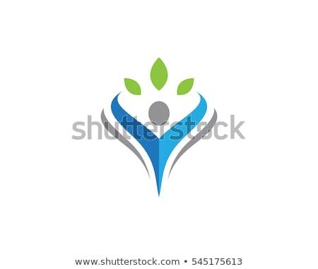 Fun people Healthy Life icon Logo template  Stock photo © Ggs