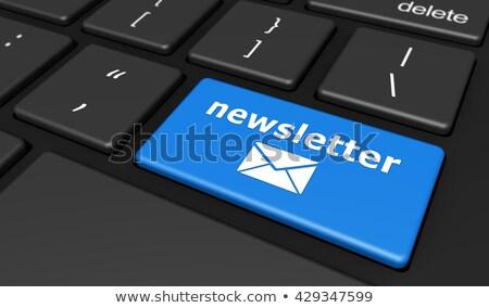 információ · porta · kék · mutat · internet · absztrakt - stock fotó © tashatuvango