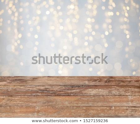 Lege houten oppervlak bruin Stockfoto © LightFieldStudios
