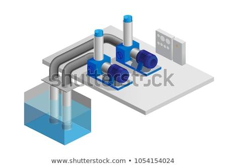 water pumping station stock photo © nenovbrothers