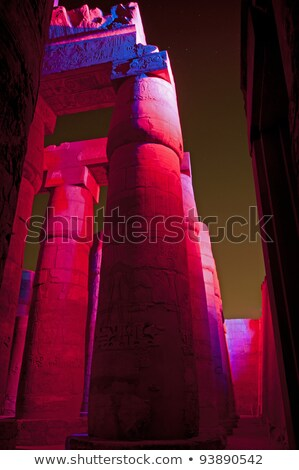 Egypt Temple of Karnak-Ramses 2nd Stock photo © FreeProd