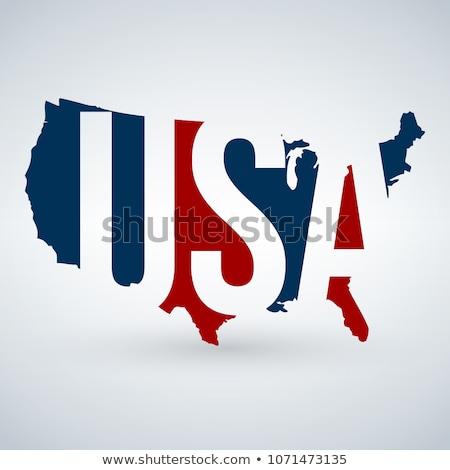 harita · Illinois · Amerika · Birleşik · Devletleri · soyut · arka · plan · iletişim - stok fotoğraf © kyryloff