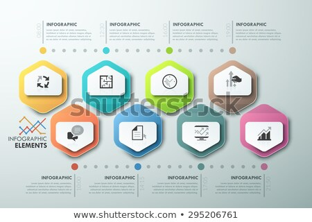 Vector illustratie manier succes infographics Stockfoto © Genestro