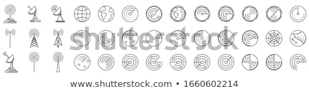 crosshair target graphic icon vector graphic set stock photo © smith1979