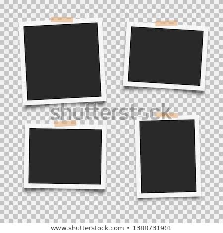 Photo frame coleção gradiente feliz projeto Foto stock © cammep