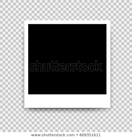 Photo frame retro gradiente feliz projeto Foto stock © cammep