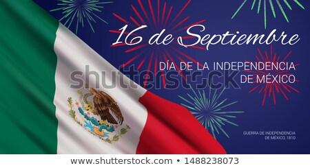 Viva Mexico Happy Independence Day Social Media Banner Stock photo © SaqibStudio
