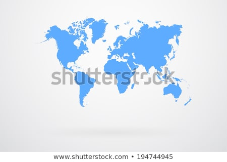 EUA · 3D · mapa · comunicação · rede · tecnologia - foto stock © jezper