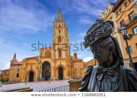 Испания красочный небе город синий архитектура Сток-фото © lunamarina