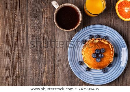 gıda · peynir · kırmızı · plaka · kahvaltı · çatal - stok fotoğraf © m-studio
