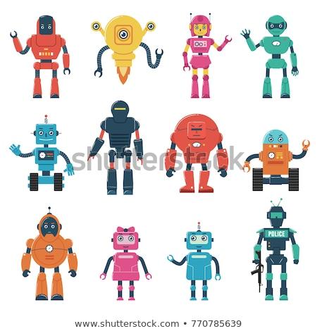 Cartoon Fantasy Monster and Alien Characters set Stock photo © izakowski