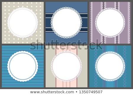 bağbozumu · vektör · afişler · retro · desen · dizayn · ayarlamak - stok fotoğraf © robuart