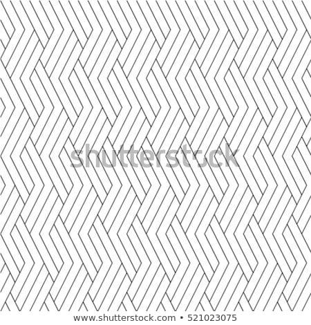 Seamless geometric stylish illusion pattern. Simple monochrome design. Creative fashion striped text Stock photo © ExpressVectors