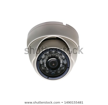 dome security cameras and digital video recorder stock photo © magraphics