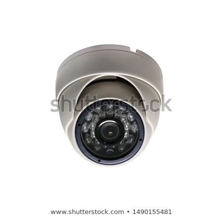 Kupola biztonság fényképezőgépek digitális videó furulya Stock fotó © magraphics