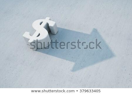 Cashflow Pfeile Business Hand Zeichnung finanziellen Stock foto © ivelin