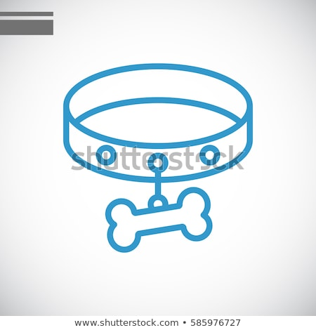 Collar Icon Vector Outline Illustration Stock photo © pikepicture