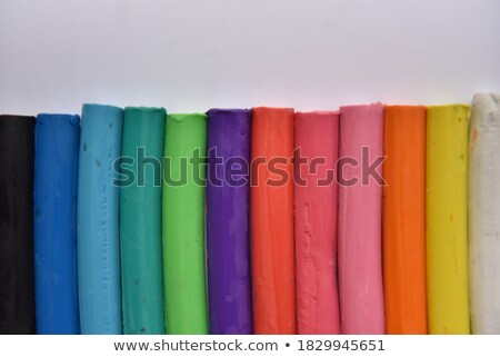 Multicolour piles plasticine Stock photo © RuslanOmega