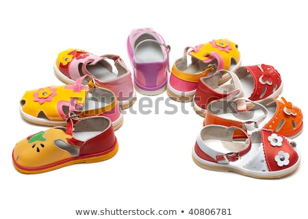 Baby sandals exposed by semicircle Stock photo © RuslanOmega